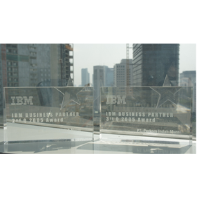 IBM Business Partner 2nd & 3rd  Q 2005 Award