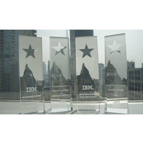 IBM Business Partner 2008 100% Achievers