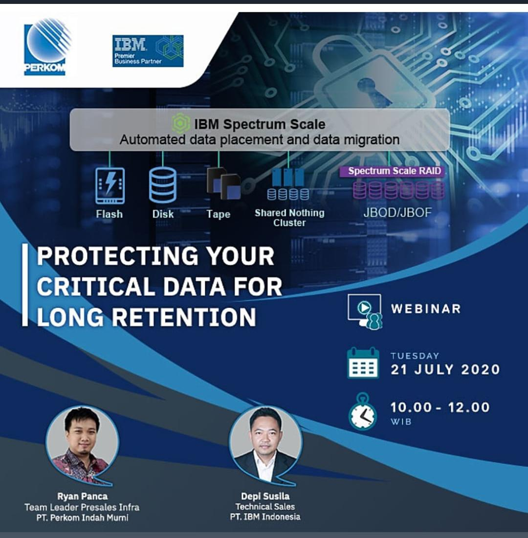 PROTECTING YOUR CRITICAL DATA FOR LONG RETENTION